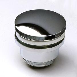 Forzalaqua Ablaufventil G 1 1/4 mit Pop-Up Druckverschluss, chrom hochglanz-poliert