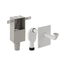 GEBERIT Uniflex UP-Geruchsverschluss BF für Waschtisch, komplett, weiss