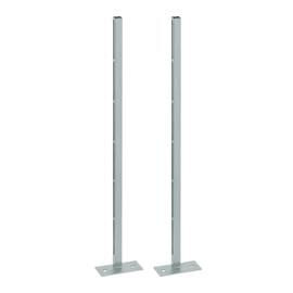 GEBERIT Kombifix: 2 Ständer mit Fußplatten für alle Montageelemente