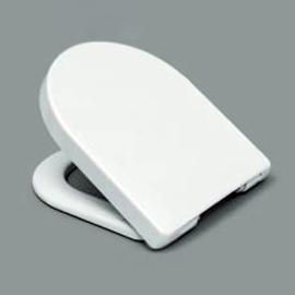 HARO BACAN SoftClose Premium WC-Sitz mit Deckel, TakeOff Edelstahl-Scharniere C4302G, weissalpin