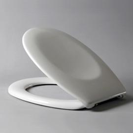 HARO BALTIC WC-Sitz mit Deckel, FastFixmutter Nylon-Scharniere B0301Y, weissalpin