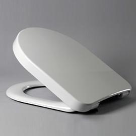HARO CALLA SoftClose Premium WC-Sitz mit Deckel, TakeOff Edelstahl-Scharniere C4602G Klappdübel, weissalpin