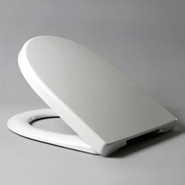 HARO MADEIRA SoftClose WC-Sitz mit Deckel, TakeOff Edelstahl-Scharniere C0202Y mit Fastfixmutter, weissalpin