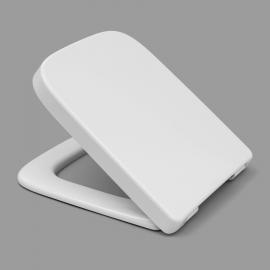 HARO MAKIRA SoftClose Premium WC-Sitz mit Deckel, TakeOff Edelstahl-Scharniere C2802H mit BVO-Spreizdübel, weissalpin