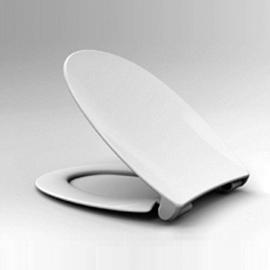 HARO MONDENA SoftClose Premium WC-Sitz mit Deckel, TakeOff Edelstahl-Scharniere C4302G mit Klappdübel, weissalpin