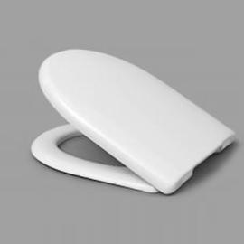 HARO MOVE SoftClose WC-Sitz mit Deckel, TakeOff Edelstahl-Scharniere C0202Y mit FastFixmutter, weissalpin