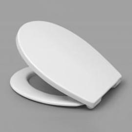 HARO PALLAS SoftClose WC-Sitz mit Deckel, TakeOff Edelstahl-Scharniere C2702Y, weissalpin