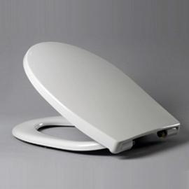 HARO PASSAT WC-Sitz mit Deckel, Edelstahl-Scharniere  E0402Y, weissalpin