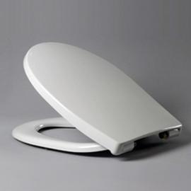 HARO PASSAT SoftClose Premium WC-Sitz mit Deckel, TakeOff Edelstahl-Scharniere C0202Y, weissalpin