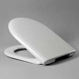 HARO WAVE SoftClose Premium WC-Sitz mit Deckel, TakeOff Edelstahl-Scharniere C0202Ymit FastFixmutter, weissalpin