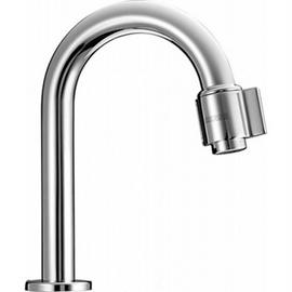 HANSANOVA Waschtisch-Standventil, DN 15, mit festem Auslauf, Ausladung 127 mm