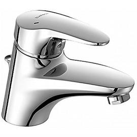 HANSAMIX Waschtisch-Einhand-Einlochbatterie mit Ablaufgarnitur, chrom