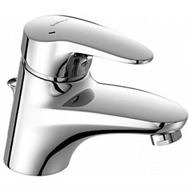 HANSAMIX Waschtisch-Einhand-Einlochbatterie für offene Heißwasserbereiter, chrom