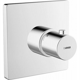 HANSADESIGNO-VAROX Funktionseinheit mit Thermostat-Batterie, chrom