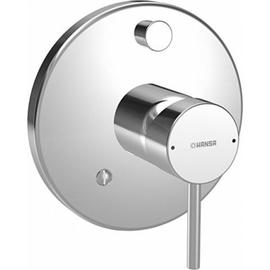 HANSASTELA-VAROX Funktionseinheit mit Einhand-Wannen-Batterie, chrom