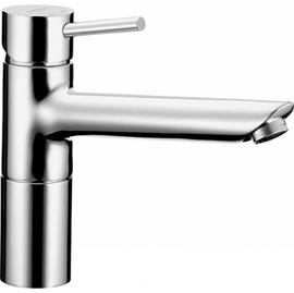 HANSAVANTIS STYLE Spültisch-Einhand-Einlochbatterie für offene Heißwasserbereiter, chrom
