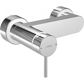 HANSASTELA AP-Einhand-Brause-Batterie S-Anschlüsse verdeckt G 1/2, chrom