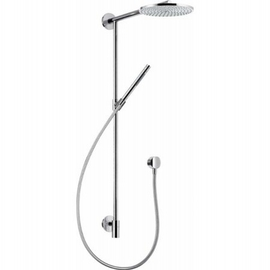Hansgrohe Raindance Connect Showerpipe Kopfbrause D 240 mm mit Arm 350mm, chrom