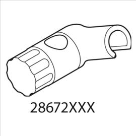 Hansgrohe Unica Schieber zu 2867200, chrom