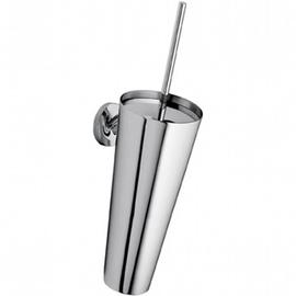 Axor Starck WC-Bürstengarnitur und Wandhalter aus V2A poliert