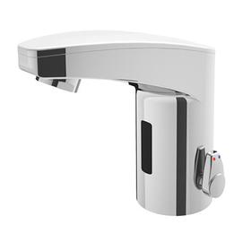 iqua IQ maxx Waschtischarmatur M10, mit IR-Sensor, mit Mischung, Batteriebetrieb, ohne Ablaufgarnitur. chrom