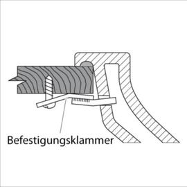 IDEAL STANDARD Befestigungsklammern für Einsatz-Waschtische an Trägerplatte, 4 Stk.