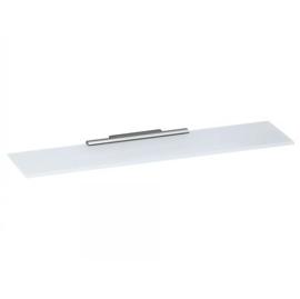 KEUCO PLAN Cristallinglas-Platte lose, Unterseite mattiert, 220 x 100 mm