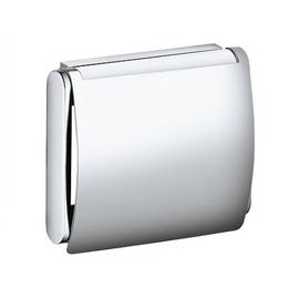 KEUCO PLAN Toilettenpapierhalter mit Deckel für Rollenbreite 100/120 mm, edelstahl
