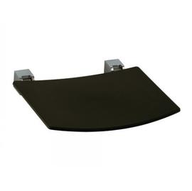 KEUCO PLAN Wand-Klappsitz, Sitz n.oben klappb. Sitzfl. 360 mm,alu.sil.elox./schwarzgrau
