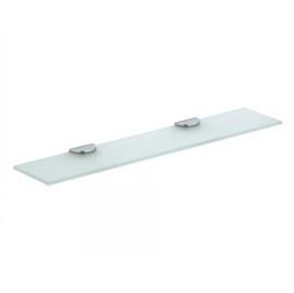 KEUCO EDITION 300 Cristallinglas-Platte 1250 x 120 mm, Unterseite mattiert
