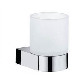 KEUCO EDITION 300 Echtkristall-Glas mattiert Ersatzteil passend zu Glashalter 30050
