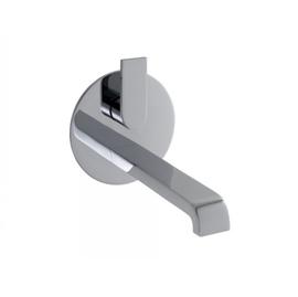 KEUCO EDITION 300 UP-EH-Waschtischmischer Durchlauferhitzer geeignet, Platte rund, chrom