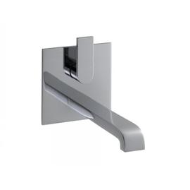 KEUCO EDITION 300 UP-EH-Waschtischmischer Durchlauferhitzer geeignet, Platte eckig, chrom