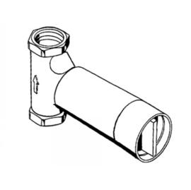 KEUCO PLAN UP-Absperrventil DN 15 Grundkörper, Anschluss G 1/2