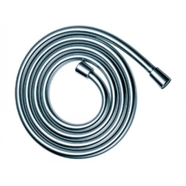 KEUCO Brauseschlauch Länge 1250 mm mit Metalleffekt und Knickschutz, chrom