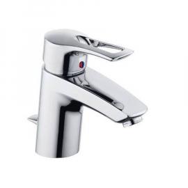 KLUDI MX Einhand-Waschtischarmatur Ausladung 150 mm, mit Ablauf-Garnitur, verchromt