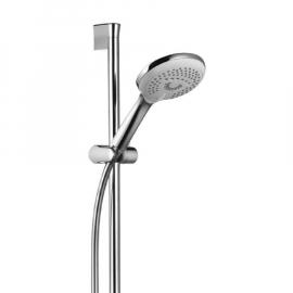 KLUDI FRESHLINE Brause-Set 3S mit Handbrause D140 mm, Schlauch 1600 mm, Wandstange 900 mm, verchromt