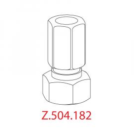 KWC Klemmverschraubung mit Rückflussverhinderer G3/4, D15, Z504182