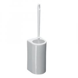LAUFEN UNIVERSAL WC-Bürstengarnitur, wandhängend mit abnehmbarer Keramik, weiss