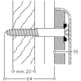 Normbau NYLON LINE-Montageset MS 4.9 C 3