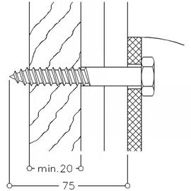 Normbau NYLON LINE-Montageset MS 4.8 C 4