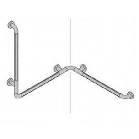 Normbau NYLON LINE-Duschhandlauf 763x763x780 mm, 485.01/20 manhattan