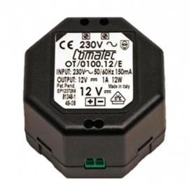 ORAS ELECTRA Transformator 230/12 VDC 1A für maximal 5 Armaturen