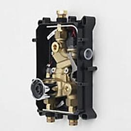 ORAS ELECTRA Rohbauset für UP-Brause/Waschtisch-Wand-Thermostatbatterie