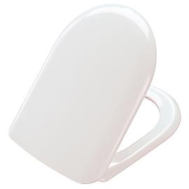 PRESSALIT Magnum WC-Sitz mit Deckel, B33 Festscharnier, weiss