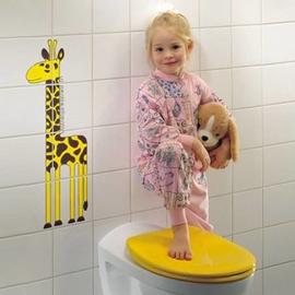 PRESSALIT Pinocchio Kinder-WC-Sitz mit Deckel, BB5 Universalscharnier, weiss