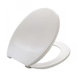 PRESSALIT Objecta WC-Sitz mit Deckel, BA1 Festscharnier, weiss polygiene