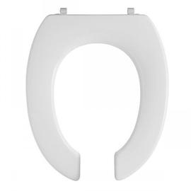 PRESSALIT Dania WC-Sitz vorne offen, ohne Deckel, UN3 Univertikalscharnier, weiss
