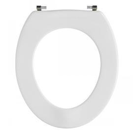 PRESSALIT Scandinavia WC-Sitz ohne Deckel, Sitzring mit Vollprofil, UN3 Univertikalscharnier, weiss