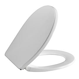 PRESSALIT T Soft WC-Sitz mit Deckel, Absenkautomatik, BZ5 Festscharnier, weiss